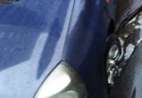 Воронежец повредил машину из-за опасной ливневки