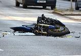 В Воронеже расследуют причины аварии с «Ладой» и погибшим мотоциклистом