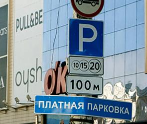 В Воронеже хотят запретить платные парковки у школ, детсадов и медучреждений