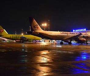 В аэропорту Воронежа до 10 ноября задержан самолет из Петербурга в Брянск