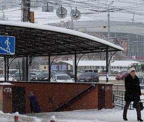 Мэрия Воронежа сообщила, на каком этапе находится реконструкция перехода у цирка