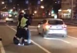 Появились подробности и видео задержания пьяного водителя «Мерседеса» в Воронеже