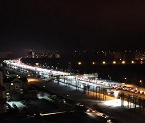 В Воронеже на Московском проспекте несколько ДТП создали огромную пробку: ФОТО