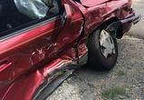 В Воронеже на светофоре столкнулись две легковушки: ранены двое пассажиров