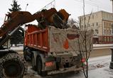 В Воронеже ночью для ликвидации последствий снегопада вывели 157 спецмашин: ФОТО