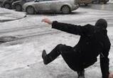 «Желтый» уровень опасности объявили в Воронеже из-за гололеда и мокрого снега