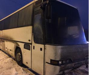 Автобус, направлявшийся в Донецк, эвакуировали в Воронеже