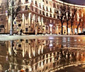 Воронежцев восхитила новая подсветка в центре города