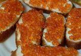 В Воронежской области подешевели красная икра, кальмары и апельсины