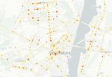 В Сети появилась интерактивная карта ДТП Воронежской области