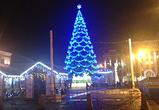 Праздничную иллюминацию на главной елке Воронежа включат на этой неделе