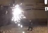 В МЧС Воронежа рассказали, зачем спасатели тушили провода снежками – видео