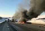 Семь человек погибли в массовом ДТП с возгоранием в Воронежской области