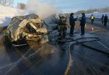 Опубликованы фото с места страшного ДТП, в котором погибли семь человек