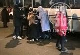 Появились фото ДТП с автобусом, сбившим ребенка на переходе у школы в Воронеже