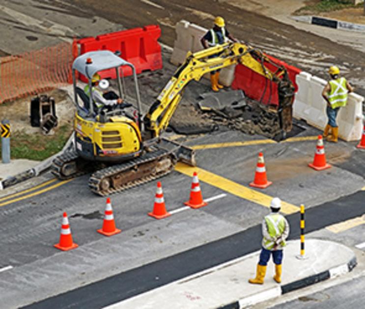 В Воронежской области начали строить дорогу в обход Боброва