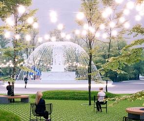 Опубликован проект реконструкции парка «Орленок»
