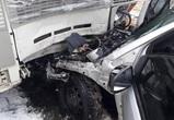 В Воронеже легковушка протаранила автобус: пострадали 5 человек