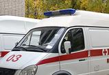 В Воронеже иномарка врезалась в машину скорой помощи, перевозившую беременную