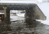 В Воронеже на левом берегу из-за прорыва канализации затопило улицу (фото)