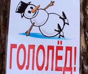 В последнюю неделю января 1100 воронежцев получили травмы при падении на лед