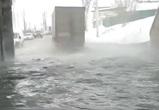 На видео попал новый «фекальный потоп» на улице Землячки в Воронеже