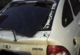 Рухнувшая с крыши сосулька разбила припаркованную машину в Воронеже