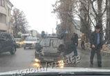 «Лада Приора» перевернулась на набережной в Воронеже  - фото