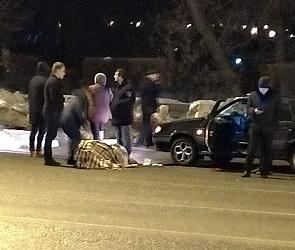 В Воронеже «Лада» сбила женщину-нарушителя