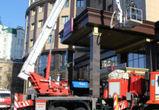 Воронежцы массово сообщают в СМИ о пожаре в гостинице в центре города