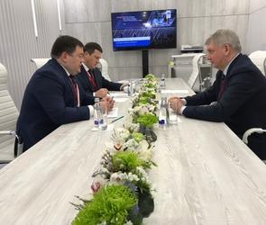 Промсвязьбанк провел рабочую встречу с губернатором Воронежской области на РИФ