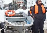 В Воронежской области в Калаче начали готовиться к паводку