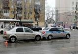 Воронежец на иномарке протаранил машину ДПС