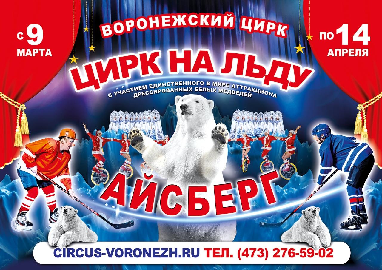 Воронеж, встречай цирк на льду Айсберг