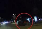 «Жертвой» ночного тарана в центре Воронежа стал еще один автомобиль