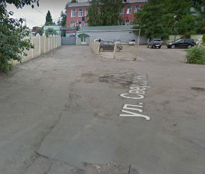 В Воронеже реконструируют разрушенную дорогу у тепловозоремонтного завода