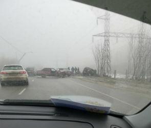 Пять человек пострадали в ДТП на улице Острогожской в Воронеже