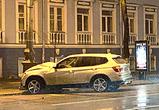 Серьезная авария в Воронеже на проспекте Революции: БМВ врезался в столб (ФОТО)