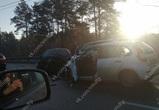 Опубликованы фото, видео и подробности ДТП с 6 машинами на Антонова-Овсеенко