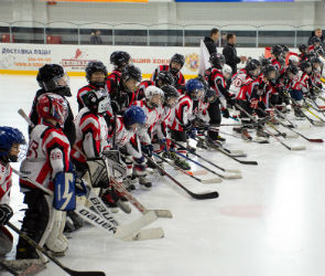 В Воронеже при поддержке депутатов горДумы открылась бесплатная хоккейная школа