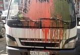 В Воронеже в «розыск» объявили «Зорро», изуродовавшего грузовик