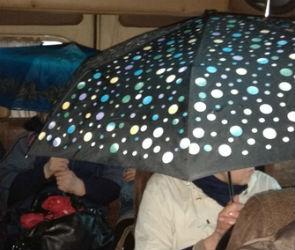 В Воронеже пассажиры маршрутки №18 пожаловались на дырявую крышу - фото