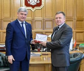 Губернатор наградил нового директора Воронежского заповедника