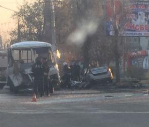 Очевидец снял на видео момент страшного ДТП с погибшими на Ленинском проспекте