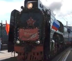 В Воронеж прибудет Поезд Победы