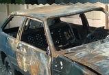 Воронежец украл и сжег автомобиль, чтобы похвастаться перед друзьями