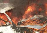 В Воронеже ночью сгорела отечественная легковушка
