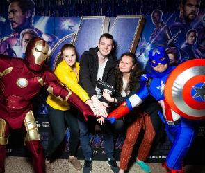 Закрытая премьера финальных «Мстителей» в Воронеже прошла при поддержке Tele2