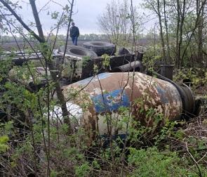 В жутком ДТП с фурой и легковушкой под Воронежем погиб один человек