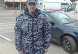 В Воронеже сотрудник Росгвардии спас жизнь прохожему